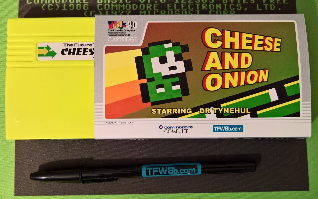 cheese and onion vic20 cartridge misfit