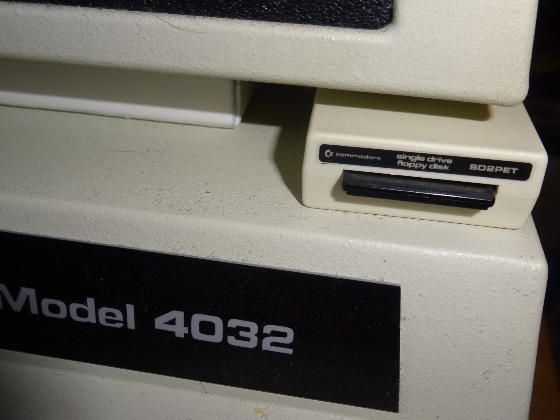 SD2PET SD Card 2031 Style disk drive for the Commodore PET