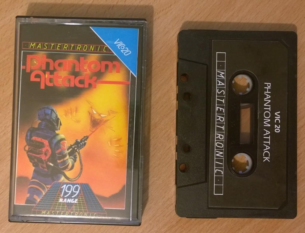 Phantom Attack - Vic 20 - MastertronicPhantom Attack - Mastertronic