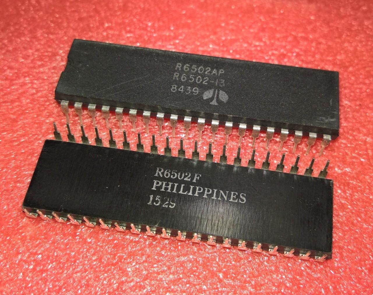 Rockwell 6502A CPU