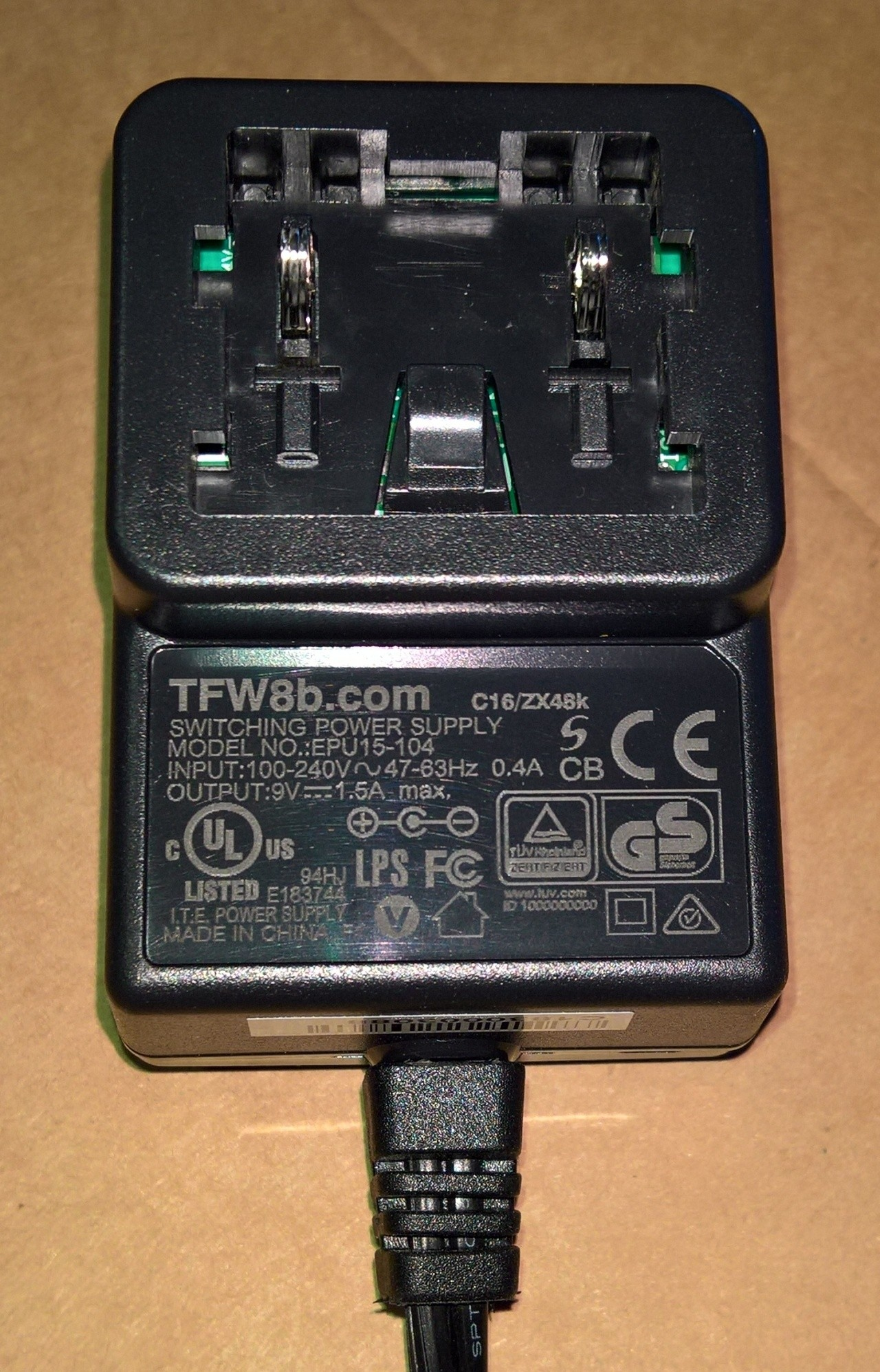 Replacement Sinclair 9v Psu Zx Spectrum Commodore C16 Sega Mega Unregulator Power Supply More Views