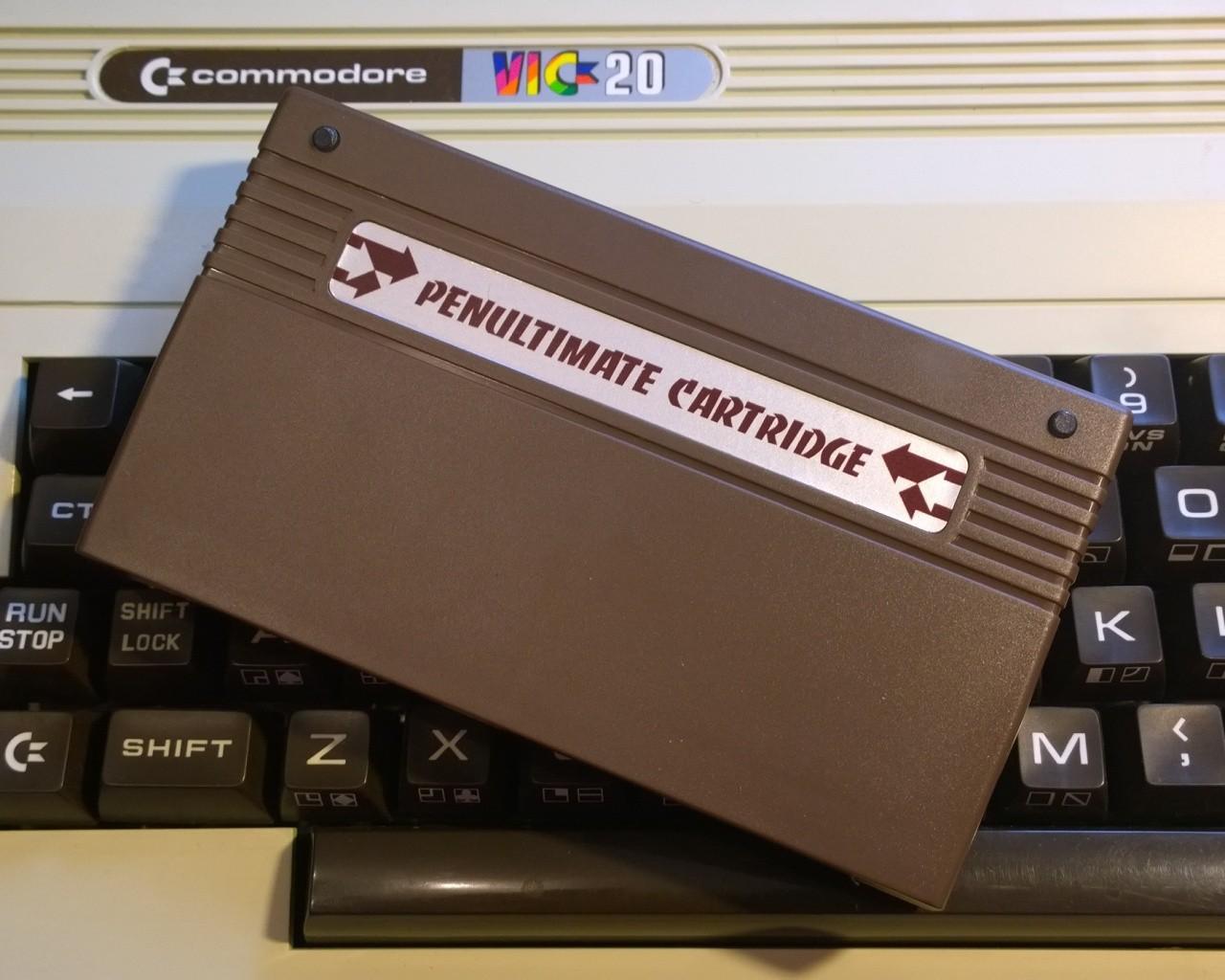 Penultimate Cartridge VIC20 Memory Expansion + ROMS