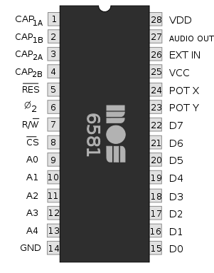 Commodore 6581 - SID Chip