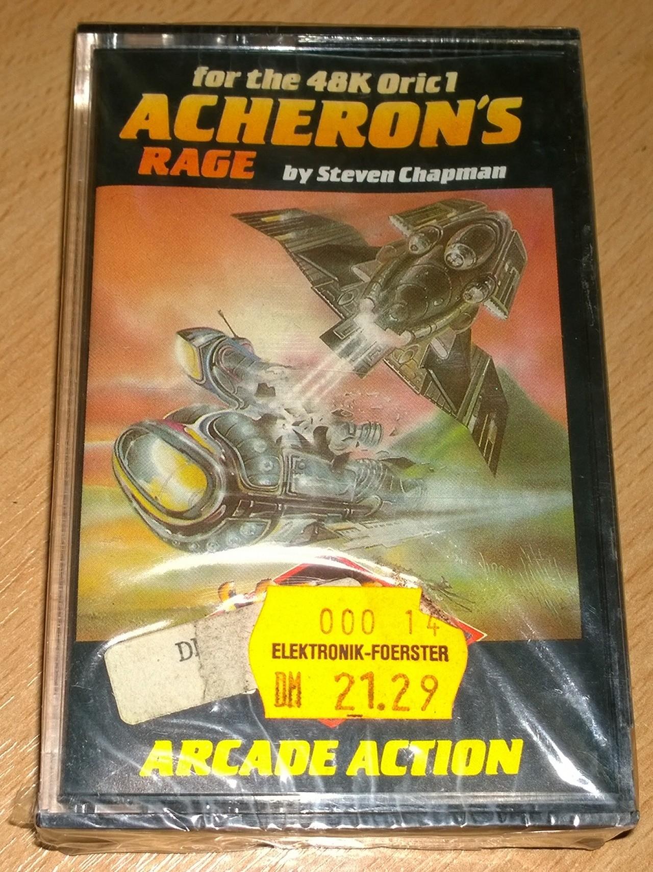 Acheron's Rage - Oric - Softek - NOS