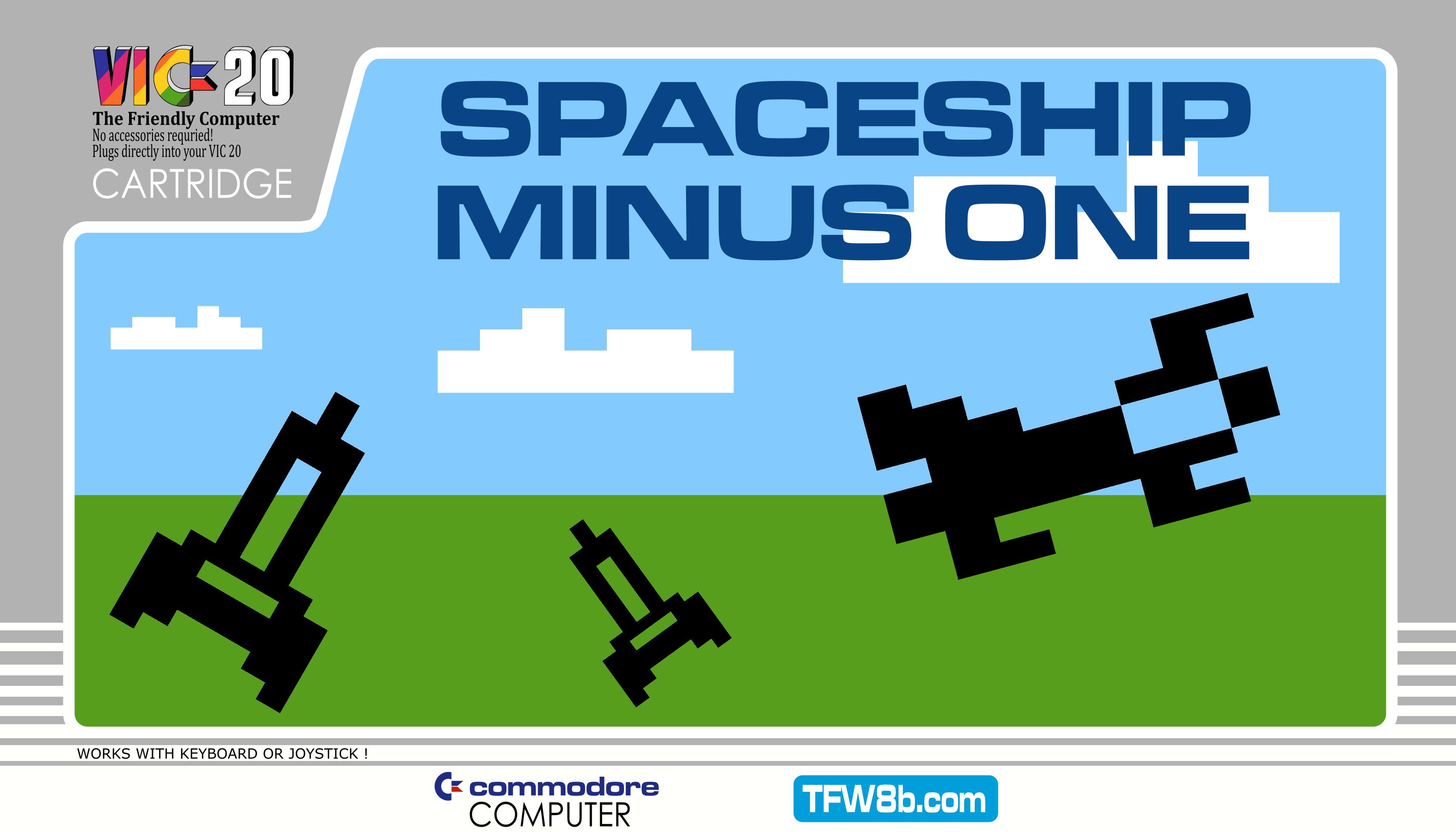 Spaceship Minus One - VIC20 Cartridge