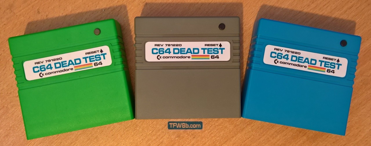 C64 Dead Test Cartridge