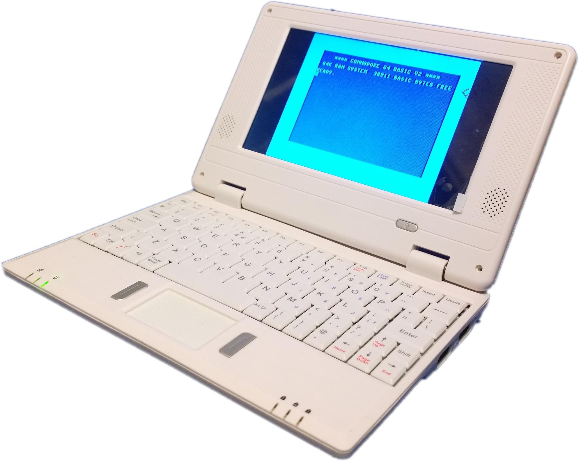 C64p - C64DTV Based laptop