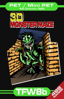 3D Monster Maze - PET 32K