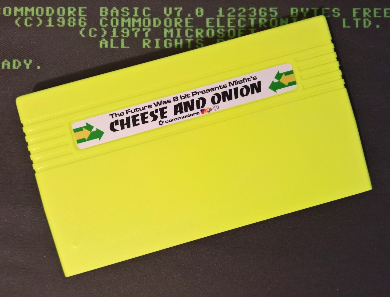 Cheese and Onion - Commodore VIC20