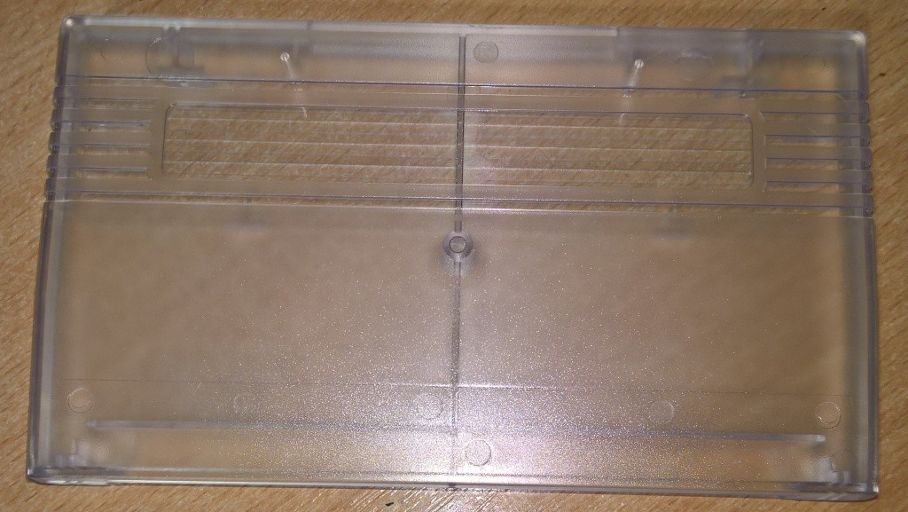 Commodore VIC20 Cartridge Case Clear