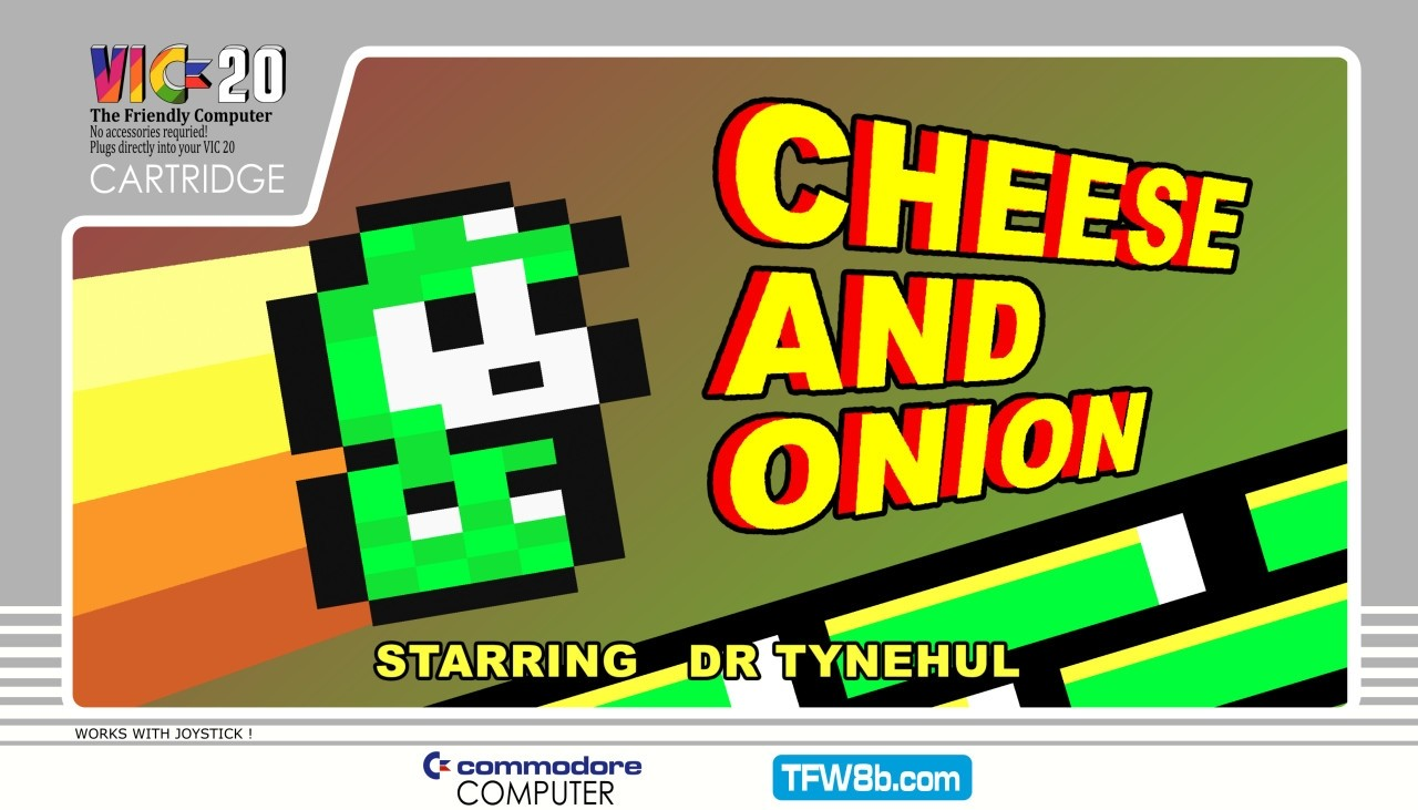 Cheese and Onion - Digital Download - VIC20 + 32k - Misfit