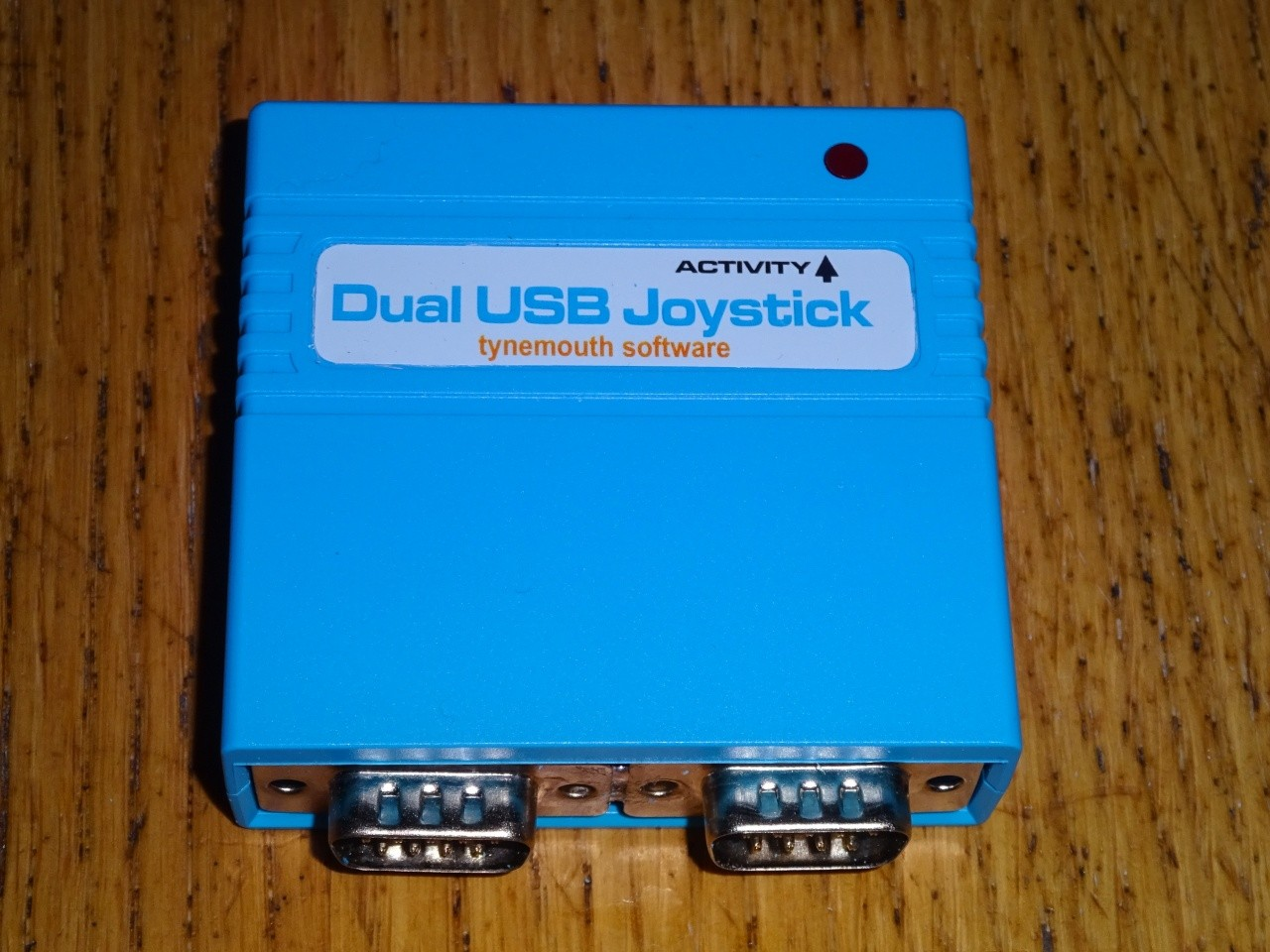 Dual 9 Way Atari Commodore Usb Joystick Adaptor 8 Switch