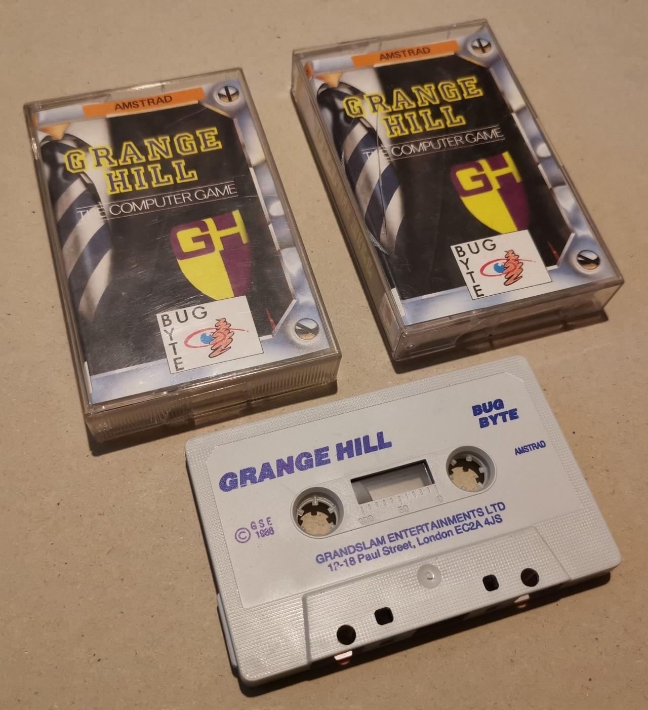 Grange Hill - BugByte - CPC - Cassette -  NOS