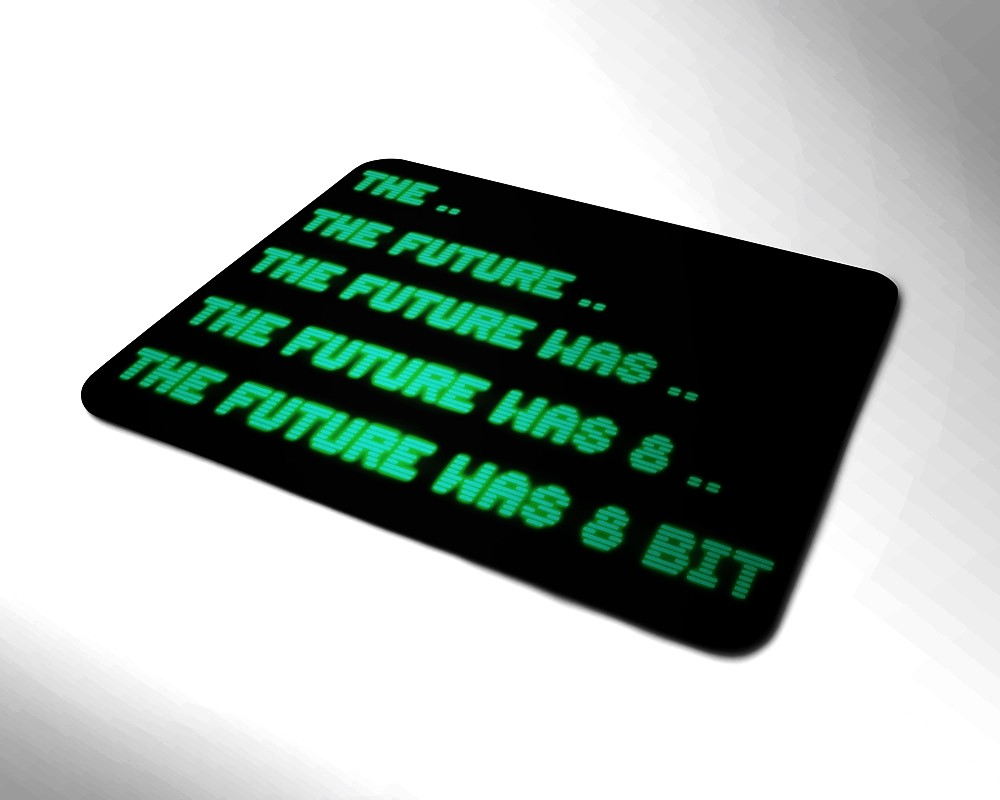 TFW8b Green Mouse Mat