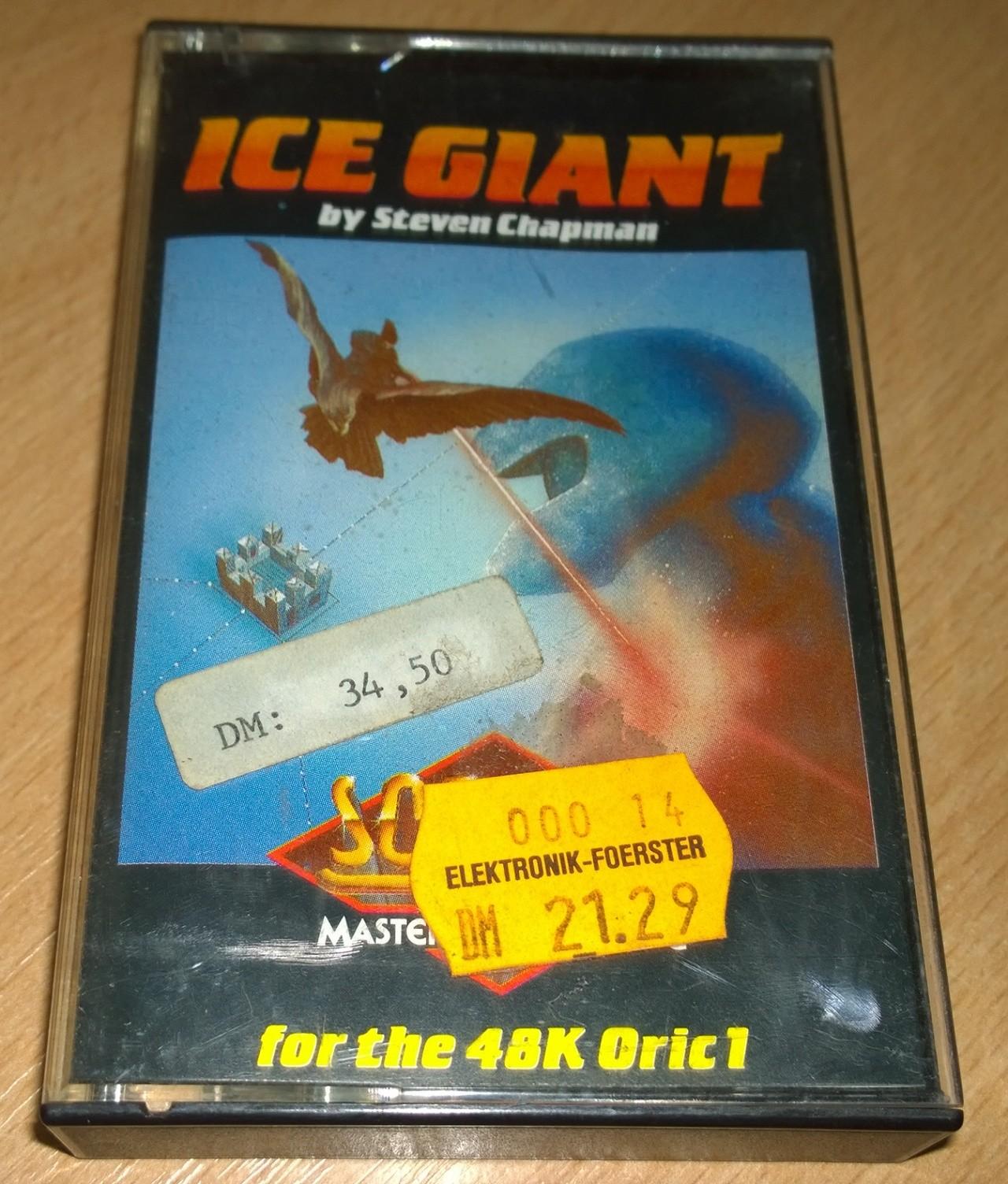 Ice Giant - Oric - Softek - NOS