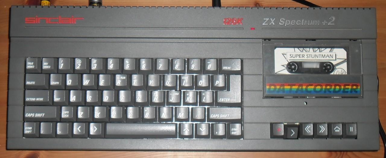 Sinclair ZX Spectrum +2