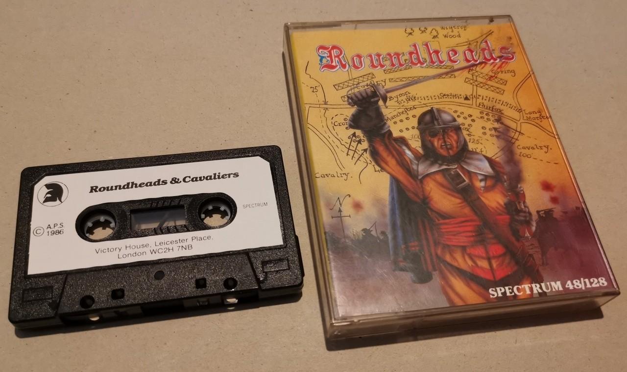 Roundheads (& Cavaliers) - APS - Sinclair ZX Spectrum 48/128k - Cassette -  NOS