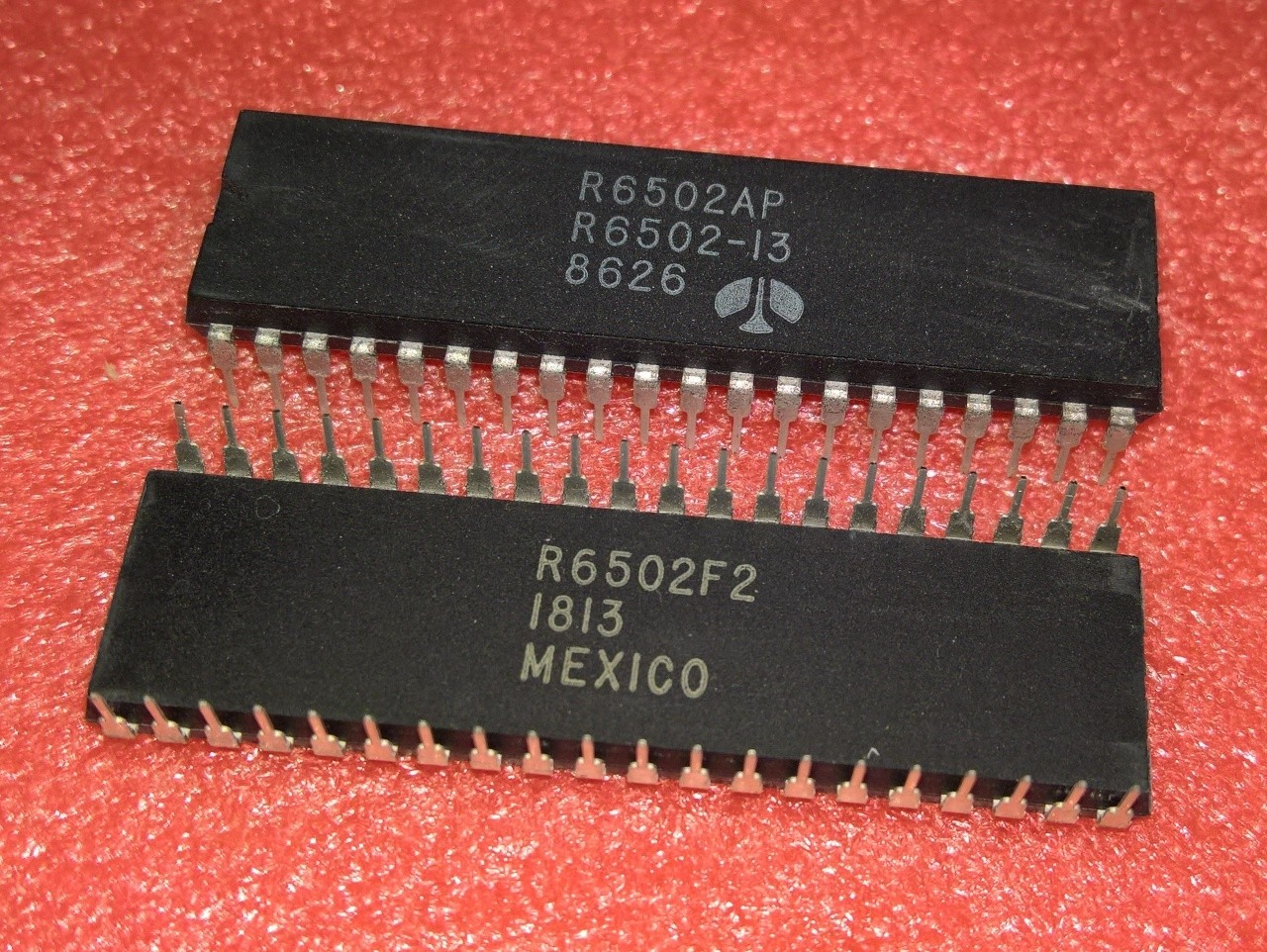 Rockwell 6502A CPU