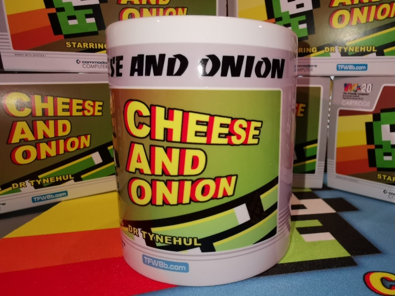 TFW8b Cheese and Onion Mug