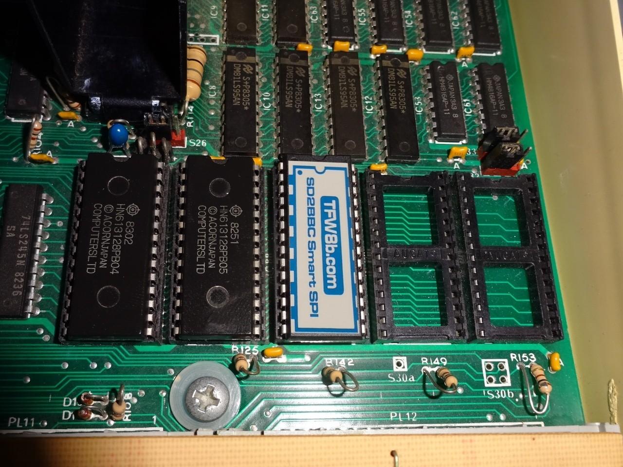 SD2BBC SPI SD Card Interface BBC B