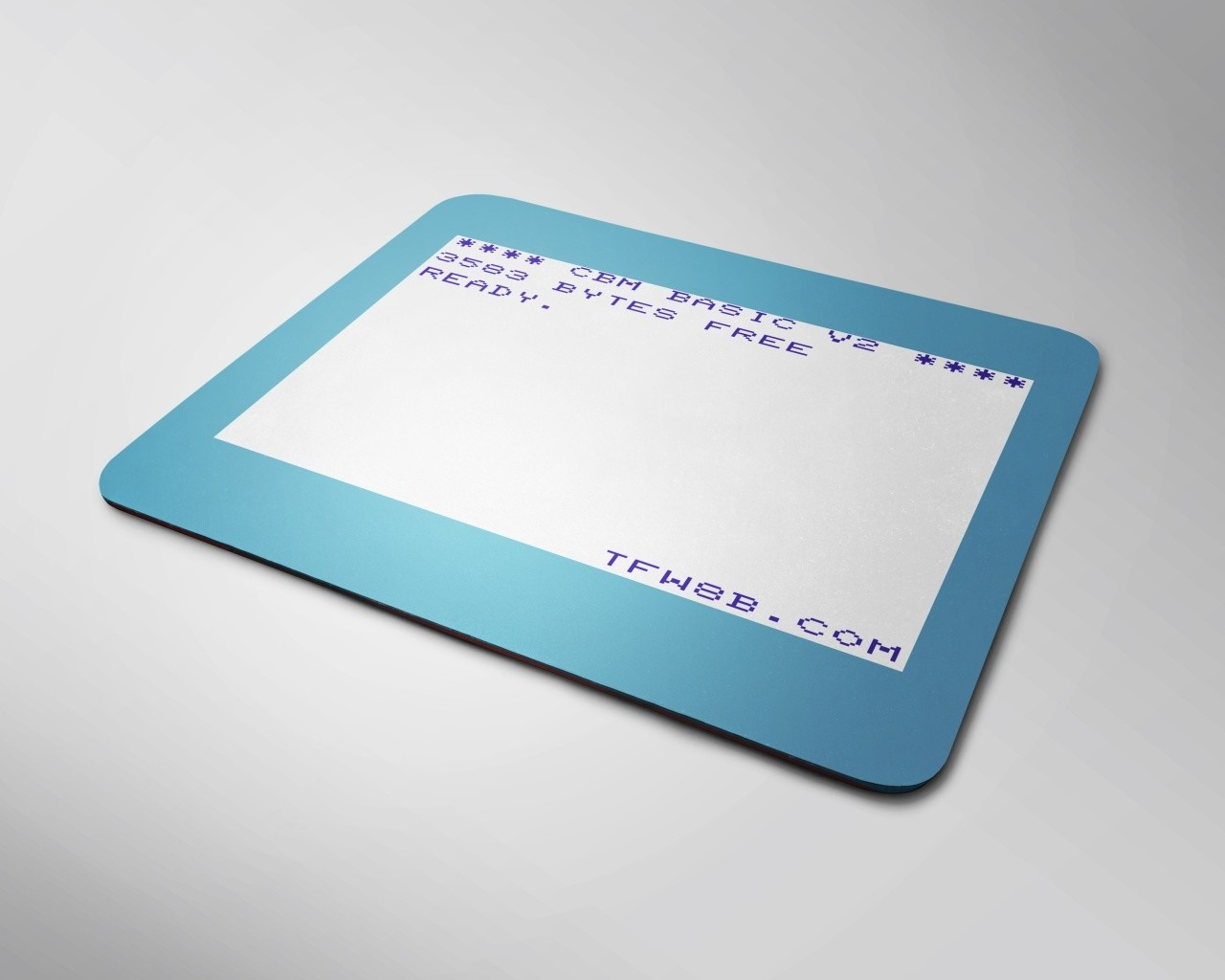 TFW8b VIC20 'Basic' Mouse Mat