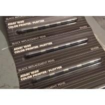 Black Plotter pens