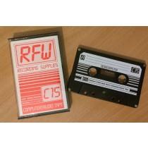Blank C15 Computer Cassette