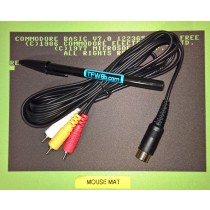 C64 VIC20 C128 Atari XL XE Composite Video Cable