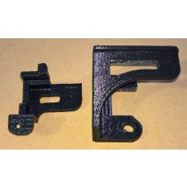 3D Printed Commodore C64c Keyboard Bracket set