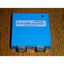 Dual 9 Way Atari/Commodore USB Joystick Adaptor