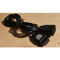 Atari Style 9 Pin D Joystick Extension Cable 6ft 1.8m