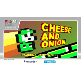 Cheese and Onion - VIC20 Cartridge