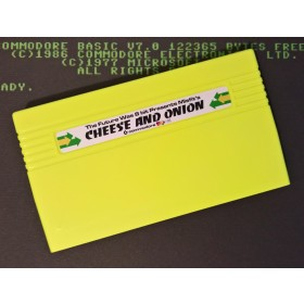 Cheese and Onion - VIC20 Cartridge (Yellow) - Misfit