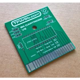 Commodore C64 8K ROM Cartridge PCB