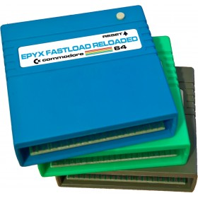 Epyx Fastload RELOADED - Disk & SD2IEC Turbo loader Cartridge C64