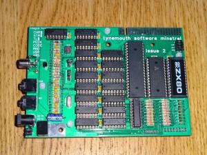 Minstrel - ZX80 Clone - Pre Built