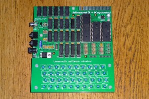 Minstrel 3 - A ZX81 Compatible kit