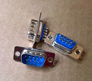 9PIN D type Joystick Port Socket