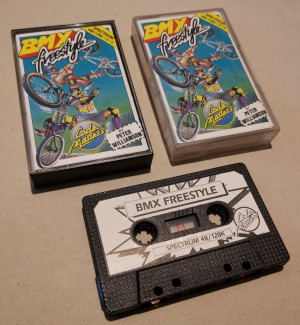 BMX Freestyle - Codemasters- Sinclair ZX Spectrum 48/128k - Cassette -  NOS