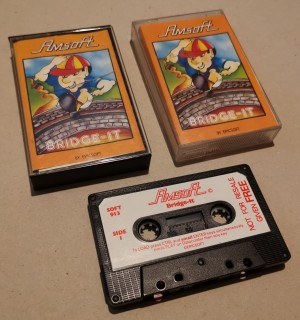 Bridge-IT - CPC - Amsoft - Cassette -  NOS