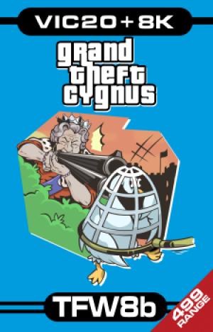 Grand Theft Cygnus - VIC20 (+8k)