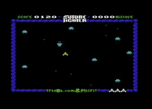 Future Fighter is an all action shoot-um-up for the unexpanded VIC20