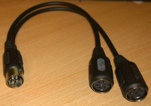 IEC Y-Cable/Splitter/Daisy chain (Disk drive/Printer port)