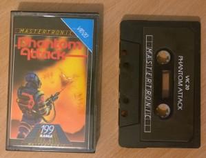 Phantom Attack - Vic 20 - Mastertronic