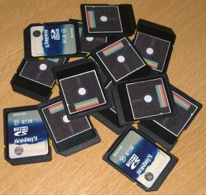 Preloaded SD Card