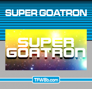 Super Goatron - C64 - Mockup
