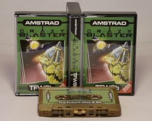 Crazy Blaster - (Amstrad CPC)