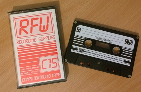 C15 Blank Computer Cassette tape