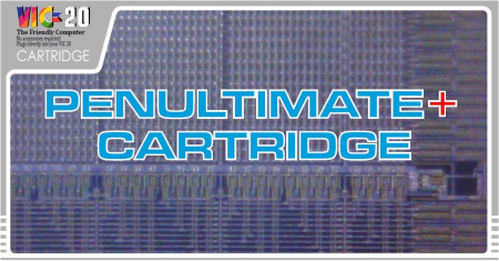 PenUltimate+ Cartridge VIC20 3k 8k 16k 24k 32k 35k Ram Pack + Roms