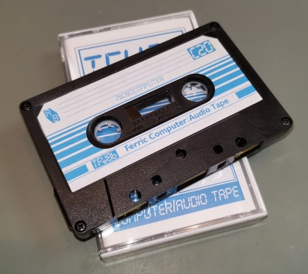 TFW8b C20 Blank Computer Cassette Tape